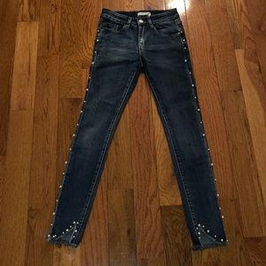 Pearl denim jeans